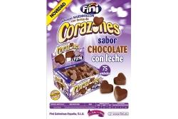 CORAZONES CHOCO FINI 75UDS