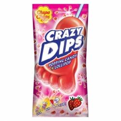 CRAZY DIPS FRESA 24UDS CHUPA CHUP0.30€