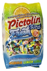 CARAMELOS PICTOLIN CITRICOS FRESH S/A 1KG