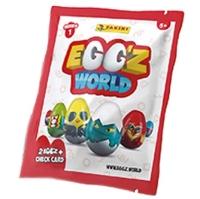 PANINI EGGS WORLD 3D SOBRE 2    30UDS