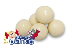 CHOCO BOLAS BLANCAS 160UDS LACASA