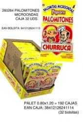 PALOMITONES MICROONDAS CHURRUCA 16UDS