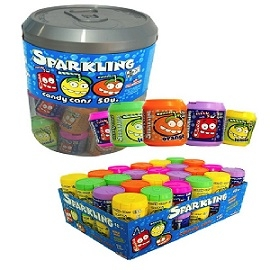 TARRO BARRILITOS SPARKLING COLORES 50UDS TOP CANDY