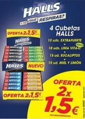 LOTE HALLS 2X1.50€ NUEVO 50UDS