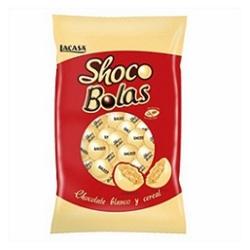 CHOCO BOLAS BLANCAS 1KG LACASA