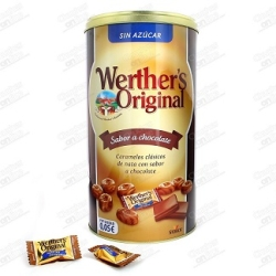 CARAMELOS WERTHERS SABOR CHOCOLATE 1KG (312UDS)
