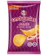 PATATAS ONDULADAS JAMON 100GR