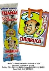 PIPAS TEJANAS 45+5UDS CHURRUCA