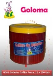 GELATINA GOLOMA FRESA 250UDS